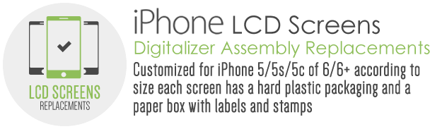 iphone lcd screens replacements