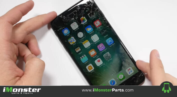 A couple ways ways to repair or replace a broken iPhone screen
